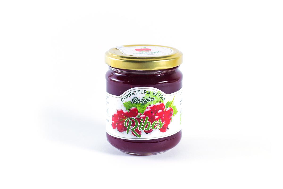 Confettura Extra Di Ribes Rosso Bio